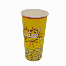 Disposable Single Wall Paper Cup for Popcorn