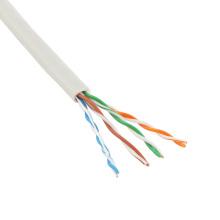 Pasó la prueba Cable al por mayor de la red del utp de 24awg cat5e