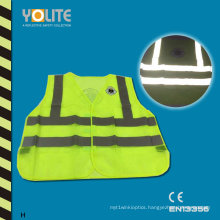 Reflective Safety Vest with CE En13356 for Roadway Safety