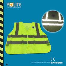 Colete de Segurança Refletivo com CE En13356 para Segurança na Estrada