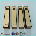 Cajas de lápiz labial de cartón de color dorado personalizado
