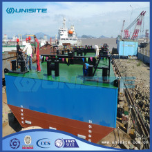 Dredging steel floating platform