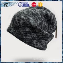 El precio al por mayor del sombrero al por mayor del knit de la aduana del diseño superventas del OEM