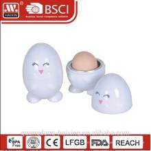 Cozedor de ovos de plástico microondas