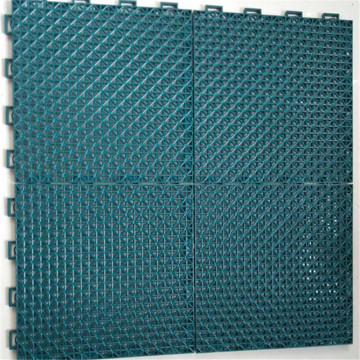 Utomhussporter Floating PP Interlocking Tile Flooring