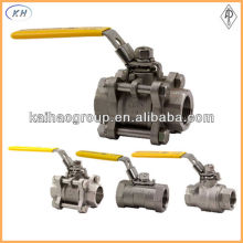 2pcs and 3 pcs stainless steel forged Ball Valve