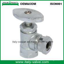 OEM&ODM Quality Brass Forged Chromed Angle Valve (AV3021C)