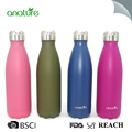 18oz easy to go personalized logo insulated water bottle