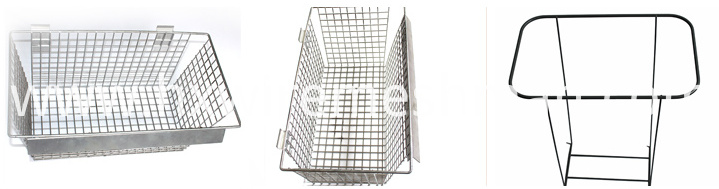 metal freezer baskets welded