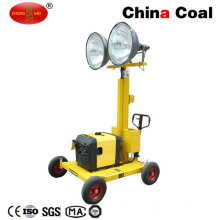 China Gold Supplier Telescopic Construction Small Portable Light Tower
