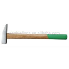 Lapidation marteau de menuisier-marteau avec manche en bois