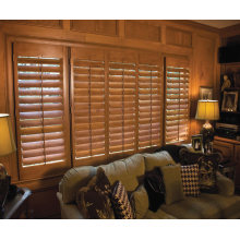 Superior Quality Cheap Price Custom-Made White Coated Vertical Plantation Shutters