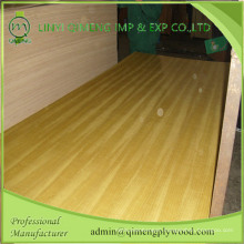 Decorative and Furniture Material AAA Grade Teak Plywood with Qimeng Brand