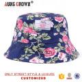 Chapeaux à godets floraux personnalisés de haute qualité en gros