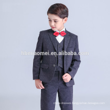2016 new fashion baby boy formal dress black color bubble boy suit wholesale