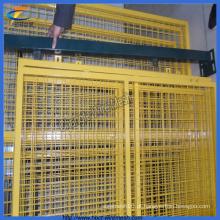 Galvanizado ou PVC revestido Wire Mesh Garden Fence