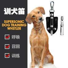 Produits de dressage pour animaux de compagnie Meilleure qualité Sifflet de dressage réglable pour chien en acier inoxydable