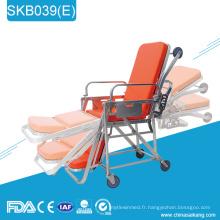 SKB039 (E) Médical patient ambulatoire Réglable Patient Trolley Prix