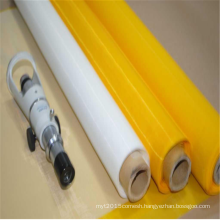 Yellow Polyester Screen Printing Mesh Fabric for Textile