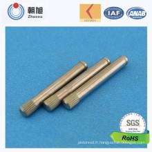 Chine Pin inférieur moleté de prix usine pour des pièces de rechange de Geneator