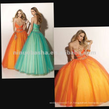 NY-2347 Vestido de quinceañera quente com vestido novo