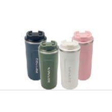 500ml Stainless Steel Solid Color Insulated Coffee Mug