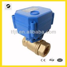 """2 способ электрический клапан моторизованный шариковый клапан модуляции или вкл/выкл Тип 1"""" до 4"""""""