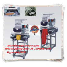 Hot sale cheap single head computerized embroidery machine work for large Area Embroidery