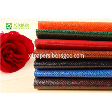 Specialty Art Leather Elegant Wrapping Papers