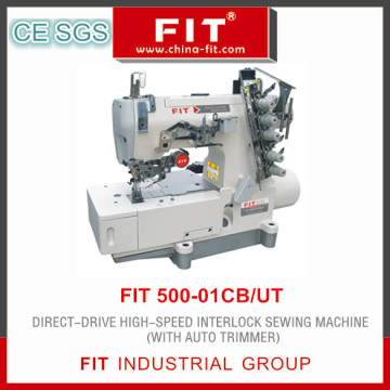 Direct Drive High Speed Interlock Sewing Machine (FIT 500-01CB/UT)