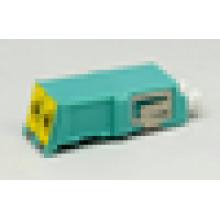 Adaptateur d'obturateur fibre optique duplex LC