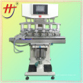 Automatic 6 color pad printing machine, electric pad printing machine, 6 color electric pad printer