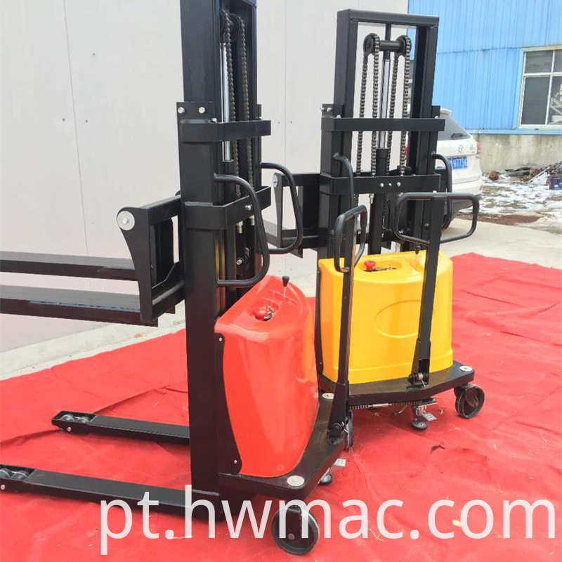 semi electric forklift