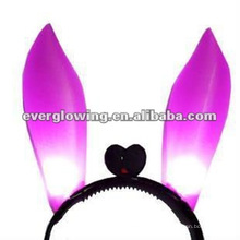 led bunny ear head bopper