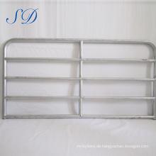 Australische Standard verzinktem Stahl Mesh 2,4 * 2,1 m Bauernhof Zaun 5 Bar Tor