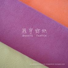 Gebundener Polyester-Wildleder-Polsterstoff für Sofa
