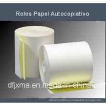 Carbonless Roll (2-ply) Paper Slitting and Rewinding Machine