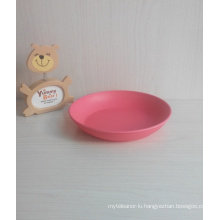 (BC-P1019) High Quality Eco Bamboo Fiber Biodegradable Tableware Plate
