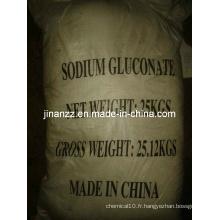 Gluconate de sodium 99,8% Min avec la meilleure qualité