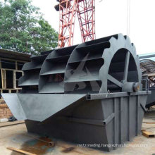 River Sand Washing Plant Bucket Wheel Sand Washer for Cambodia