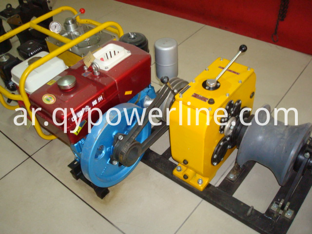 Winch Manufacturer 5 ton Diesel Winch Hoist Used for Power Construction