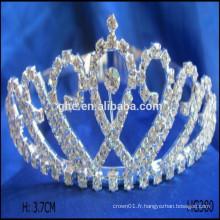 Filles strass tiaras couronnes pour mariées bijoux