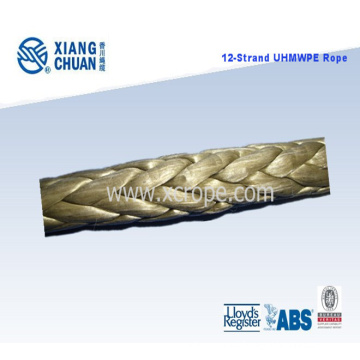UHMWPE Braided Mooring Hawser with Dnv Certificate Approved