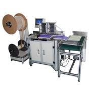 DWB520 máquina de encadernação semiautomática de fio duplo