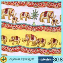 Горячие продажи слоновой ткани вискозы от текстильной фабрики