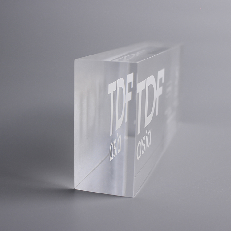 Solid Lucite Display Cubes