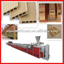 Perfis de móveis de máquinas plásticas de madeira