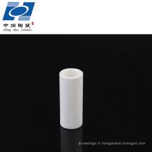 Tube céramique al2o3 industriel à 99%