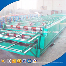 Best discount roof sheet roof panel double layer roll forming machine