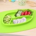 I-Abicah ye-Placemat Baby ne-Suction Food Grade Safe
